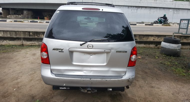 Foreign Used Mazda MPV 2002