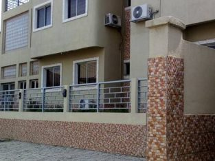 3 bedroom flat with BQ at asokoro for rent