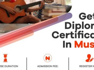 Diploma certificate in Music