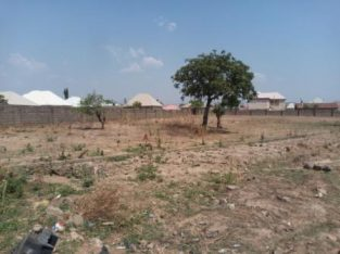 6000sqm estate Land in New Karu is up for sale