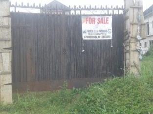 A Plot in a Gated Estate in Port Harcourt