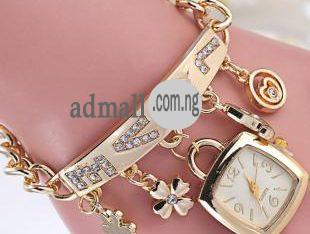 Nice female gold coloured watch