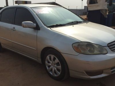 2003 toyota corolla for sale with full option