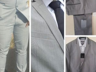 Brand new Italian Zara Suit – Jacket,Trouser,Shirt & Tie for SALE