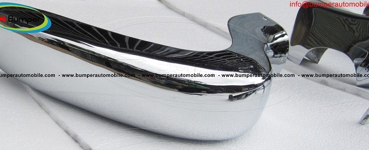 Mercedes W190 SL bumper by stainless steel (1955-1963)