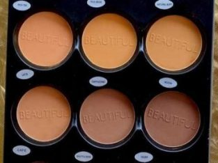 BEAUTIFUL COSMETICS MATTE POWDERS, FOUNDATION,